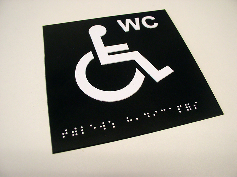 PLAQUE BRAILLE